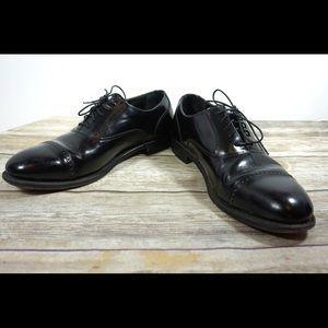 Florsheim•Black Cap Toe Oxford Leather Dress 9